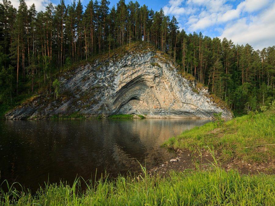 Южно-Уральский заповедник фото скалистого обрыва
