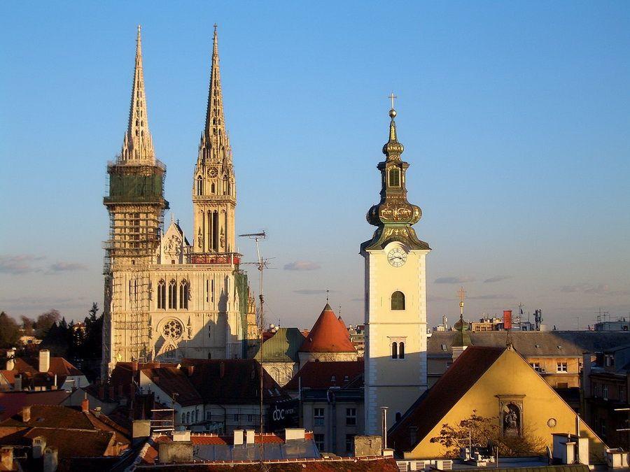 Кафедральный собор Вознесения в Загребе фото