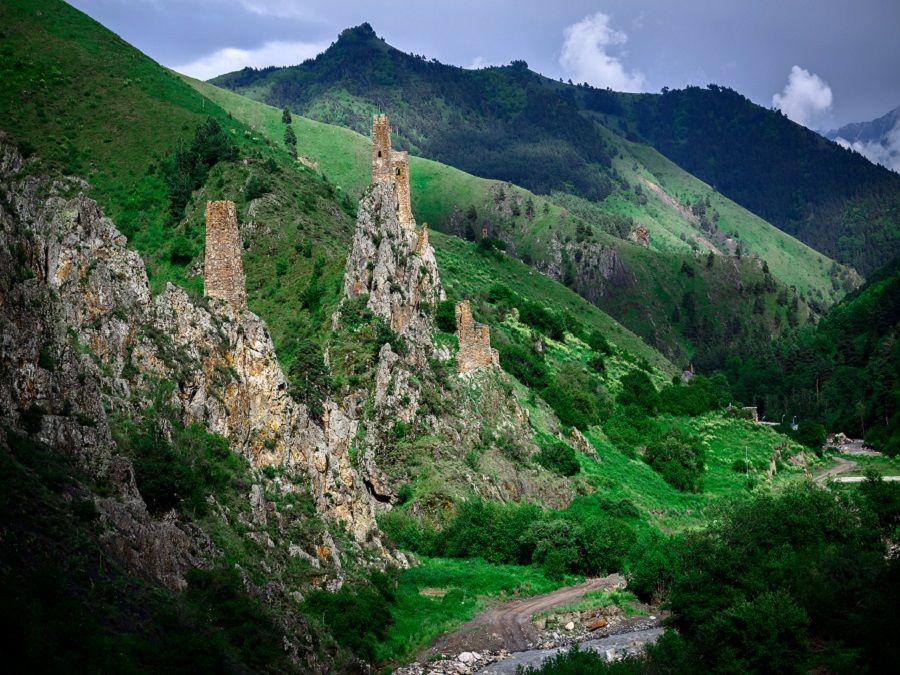 Фотография замка Вовнушки в Ингушетии