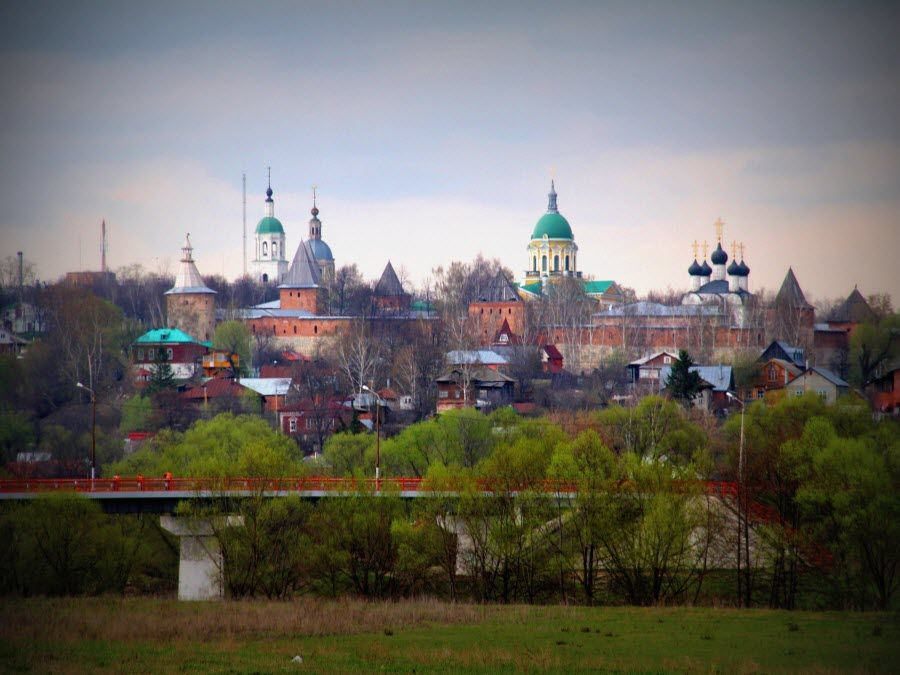 Зарайский Кремль в Московской области фото