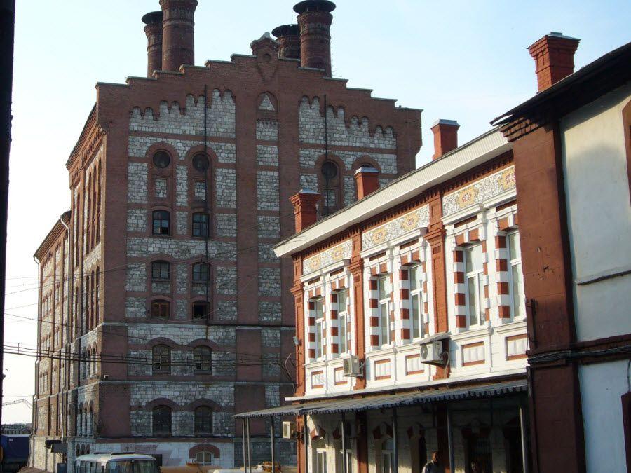 Жигулевский пивоваренный завод вид с улицы фото