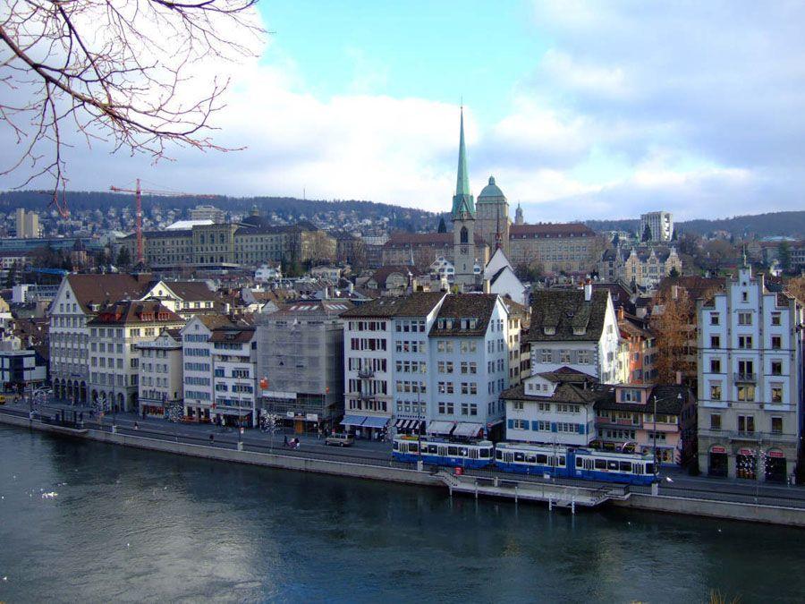 Город Цюрих фото