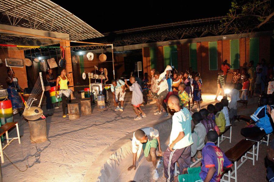 Африканская деревня фото