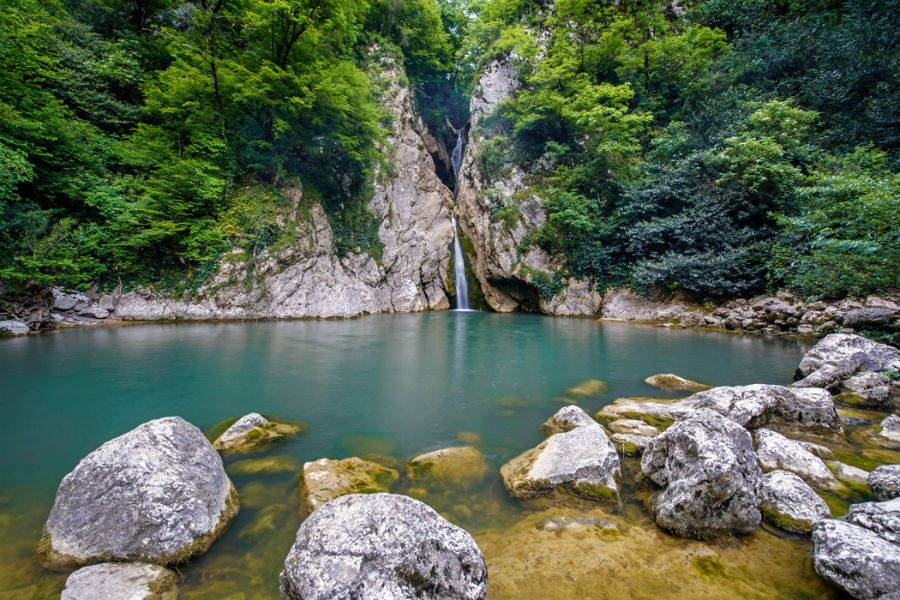 Агурские водопады фотография