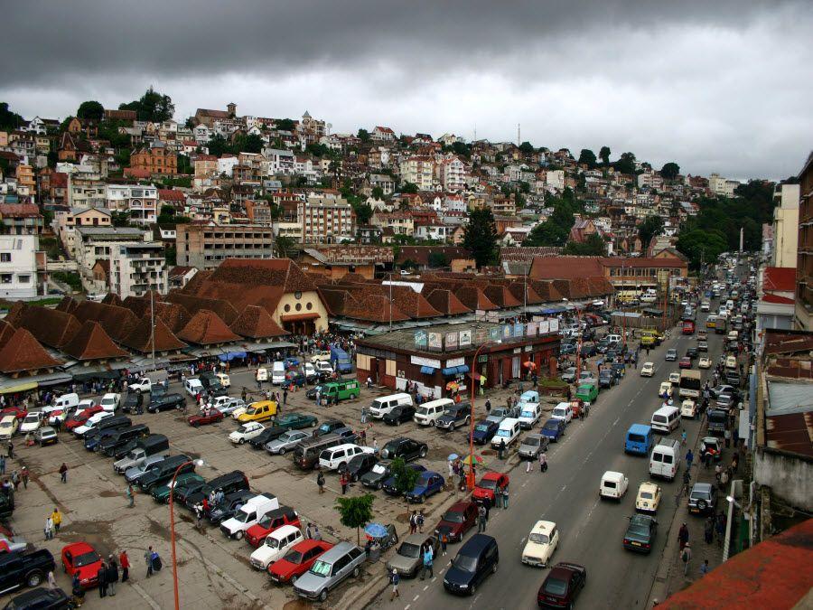 Фото столицы Мадагаскара - Антананариву