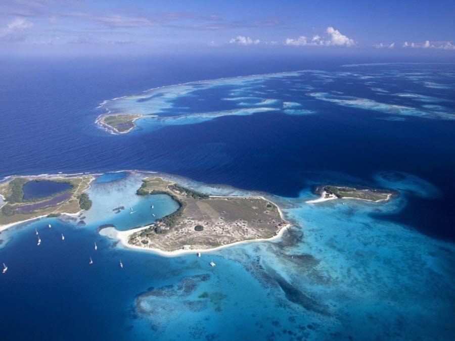 Фото архипелага неземной красоты в Венесуэле