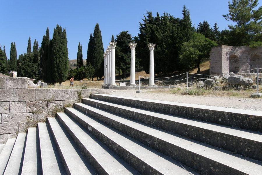 Асклепион (Пергам) фото