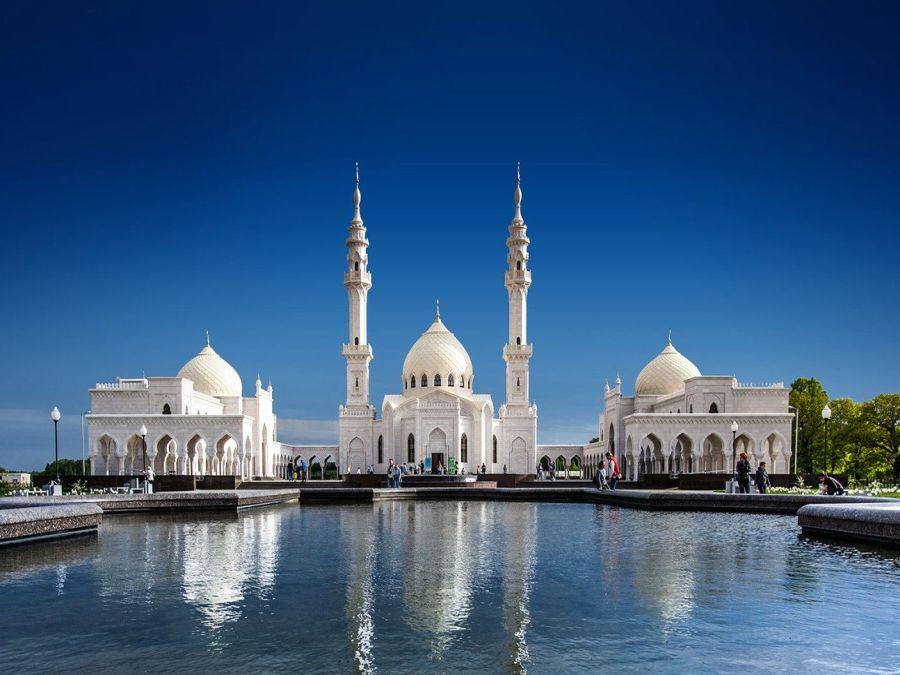 Белая мечеть фото