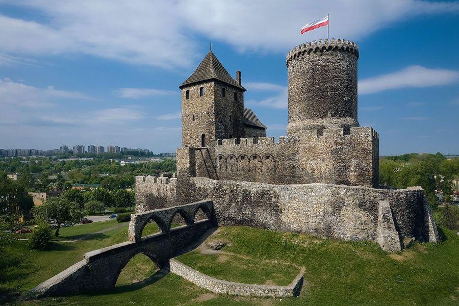 Бендзинский замок фото