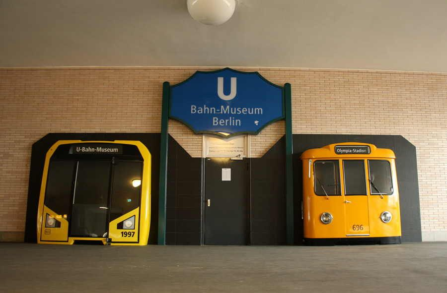 Берлинский музей метро фото