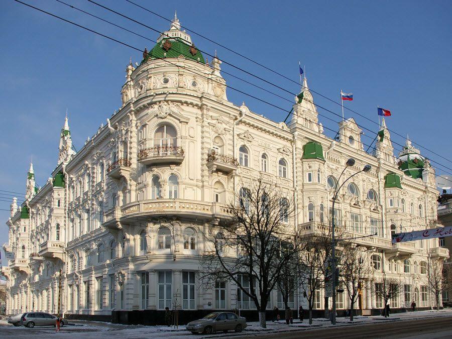 Фото архитектуры зданий на Большой Садовой улице