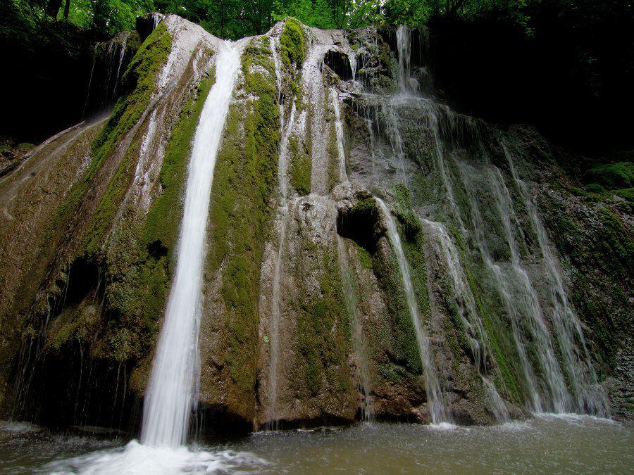 Большой Каверзинский водопад фото