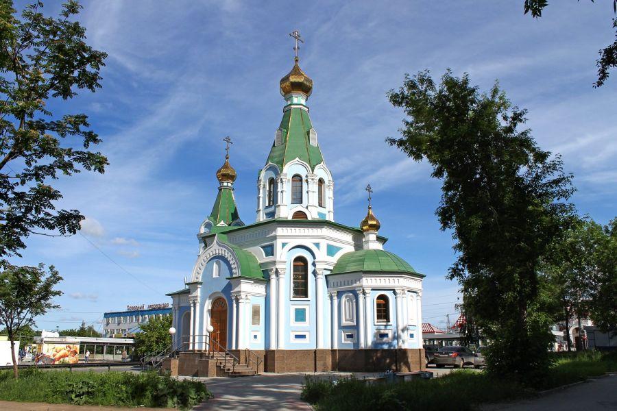 Храм в честь иконы Божией Матери «Державная» фото