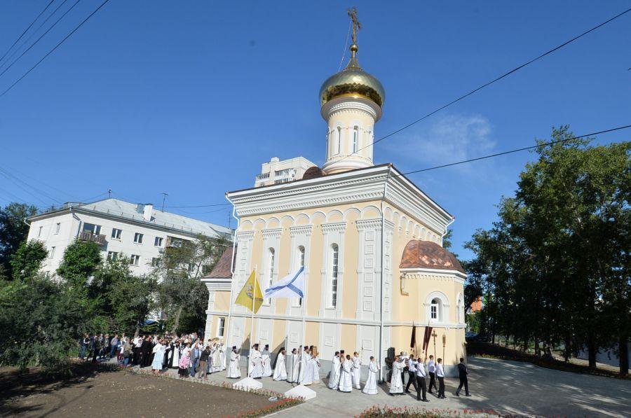 Храм в честь иконы Божией Матери Порт-Артурская фото