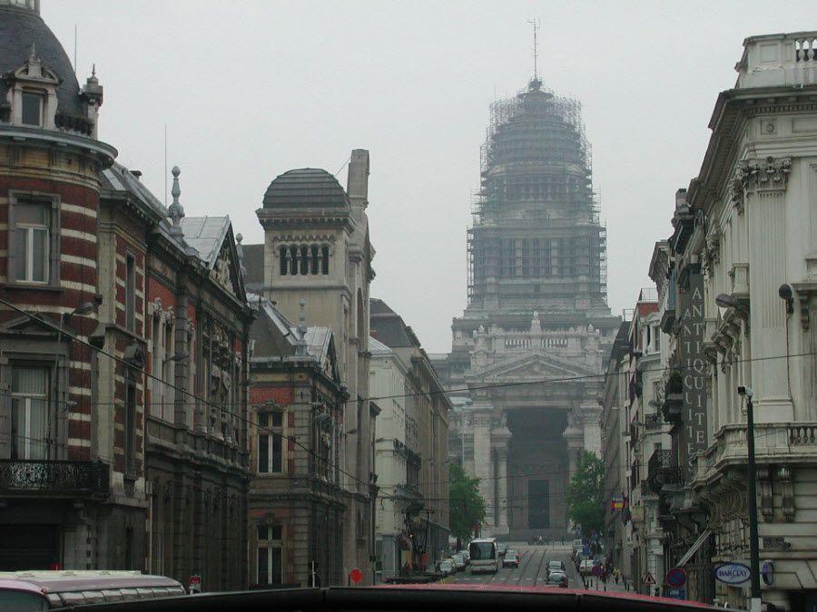 Центральная улица Брюсселя фото