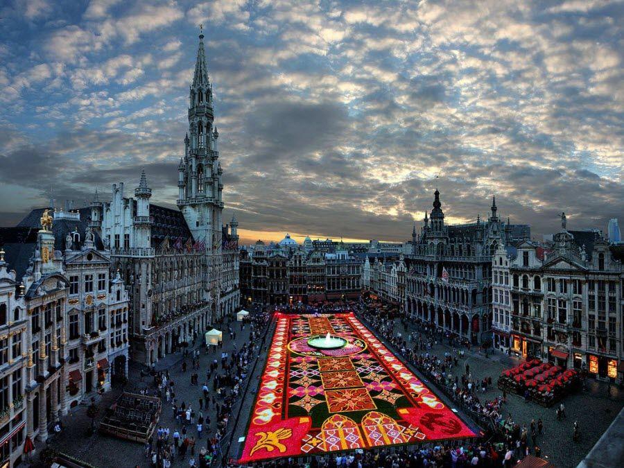 Фото Брюссель во время праздника