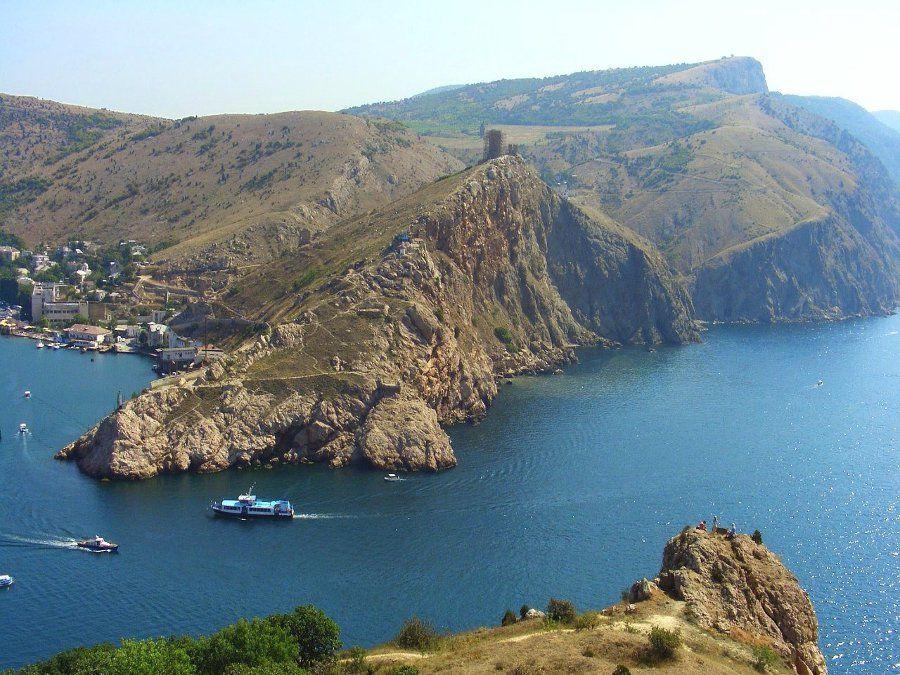 Фотография бухты в Балаклаве