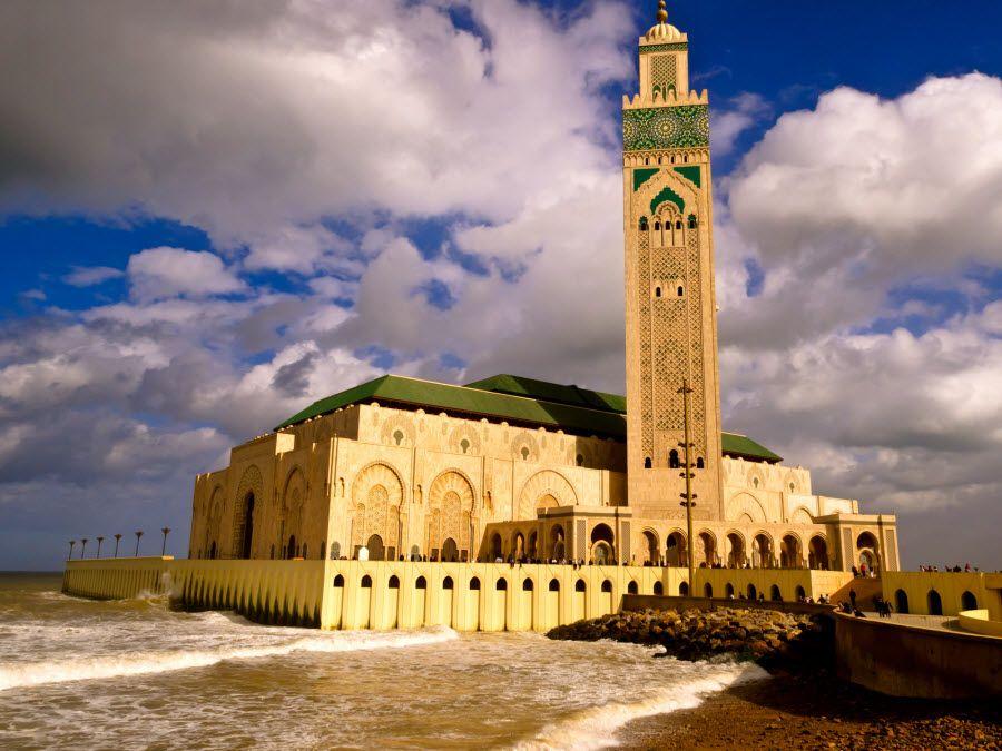 Фото мечеть Мечеть Хасана II в Касабланке Марокко