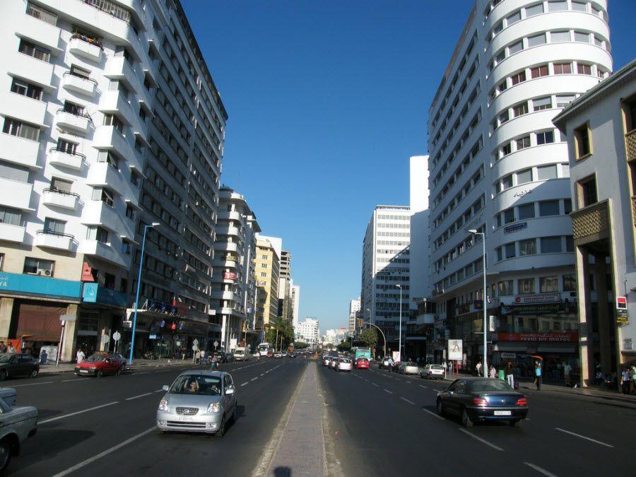 Фото архитектуры в Касабланке Марроко