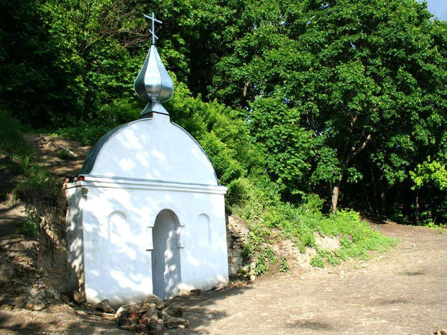 Фото вид на природу Пещерного монастыря