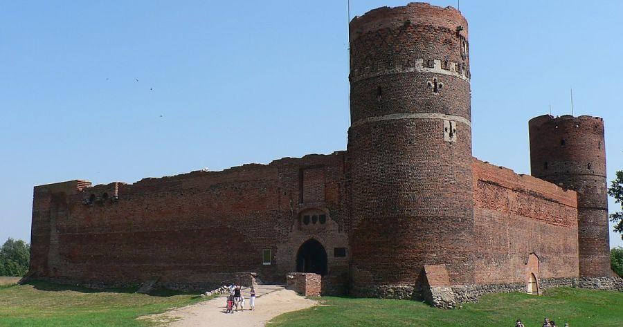 Цеханувский замок фото