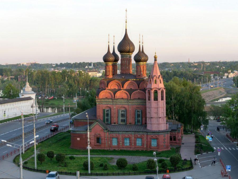 Церковь Богоявления фото