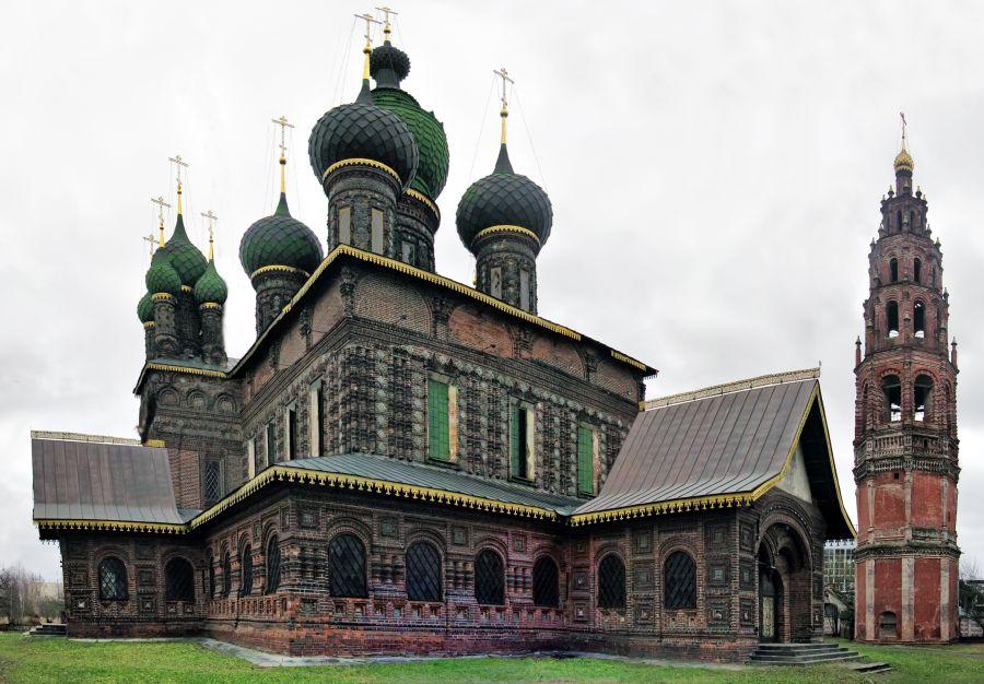 Церковь Иоанна Предтечи в Толчкове фото