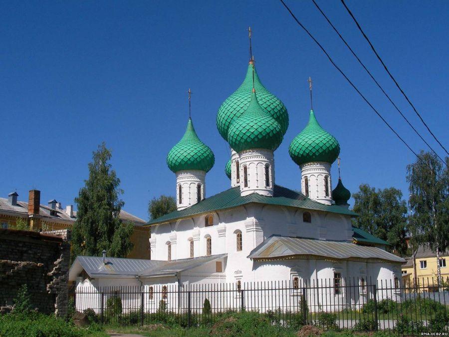 Церковь Николы в Меленках фото