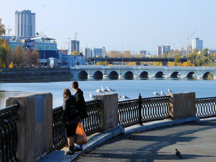 Фото вид на новый Челябинск