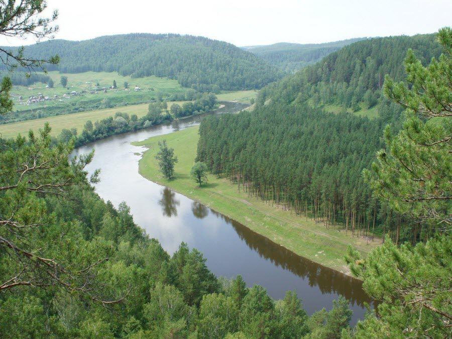 Река Ай в Челябинской области фото