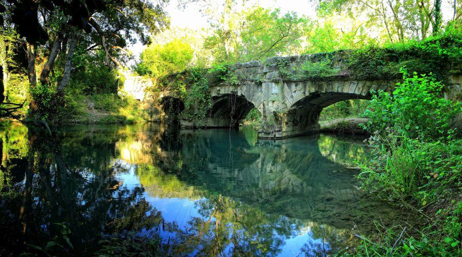 Чоргуньский мост-акведук фото