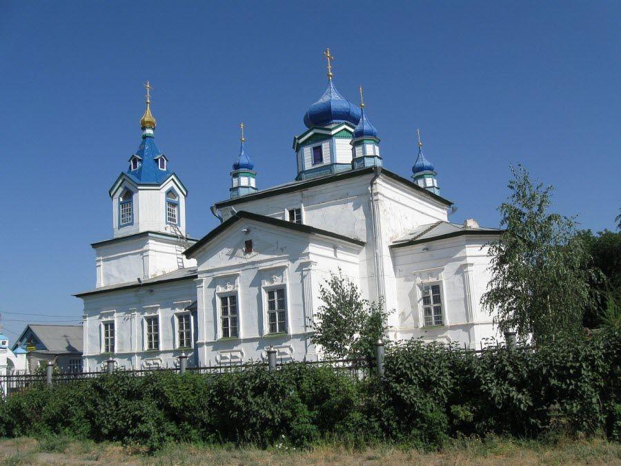 Церковь в Соль-Илецке Оренбургской области фото