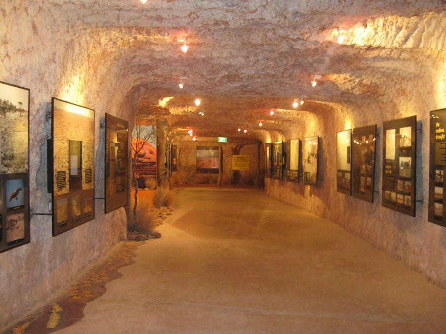 Подземная улица города Кубер-Педи фотография