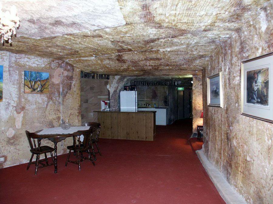 Подземный город Кубер-Педи в Австралии фото