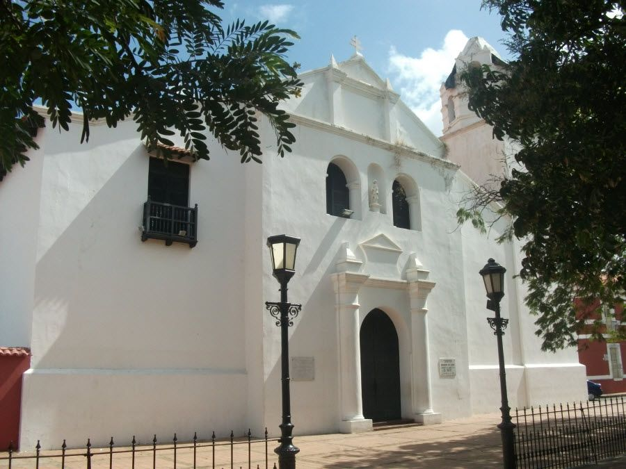 Фото собора в Коро Венесуэла
