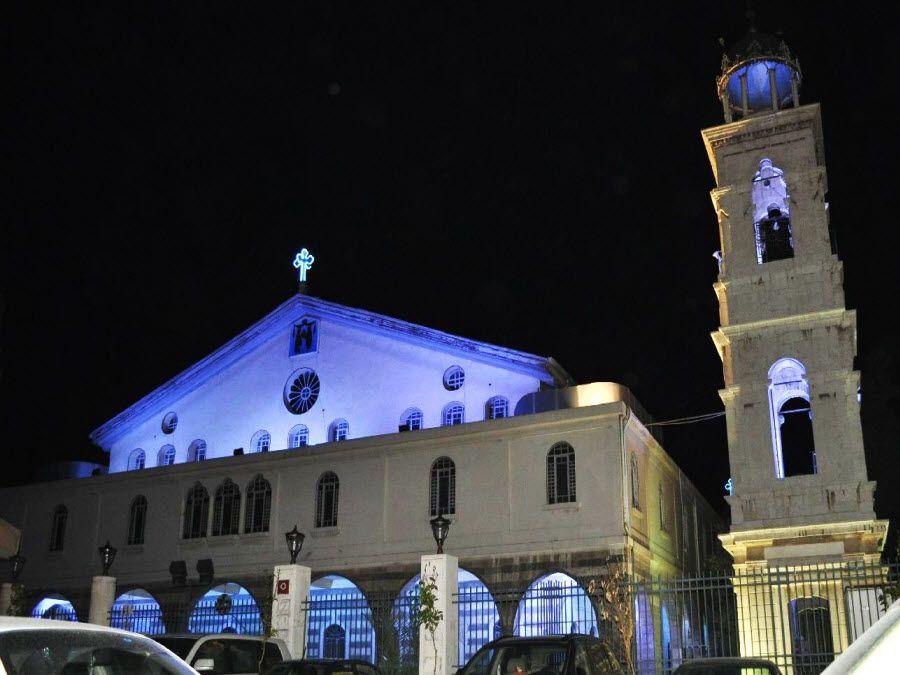 Фото храма Ортодокс в Дамаске. Сирия