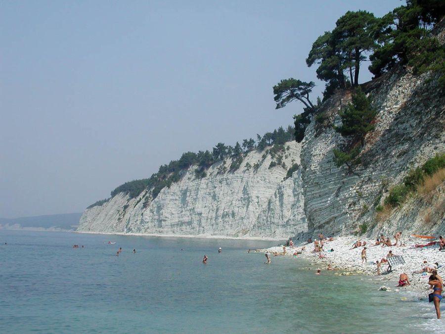 Дикий пляж в Лагуне фото