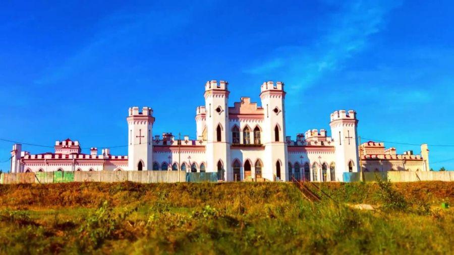 Дворец Пусловских в Коссово фото
