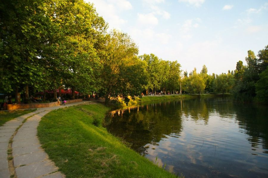 Гагаринский парк фото