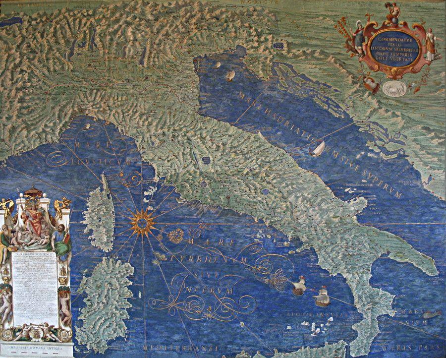 Фотография Галерея географических карт