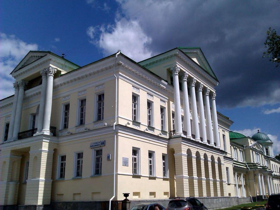 Усадьба Расторгуевых-Харитоновых в Екатеринбурге фото