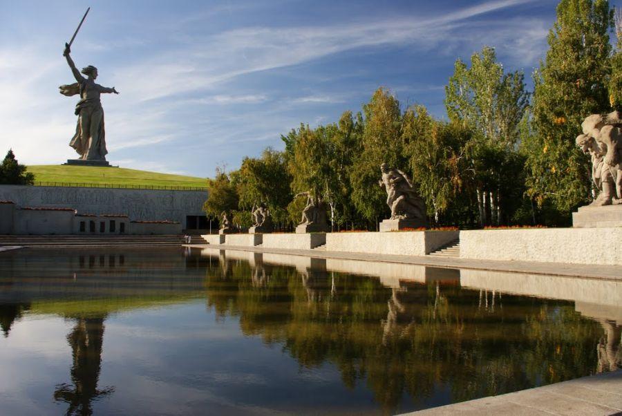 Фотография Памятник-ансамбль Героям Сталинградской битвы