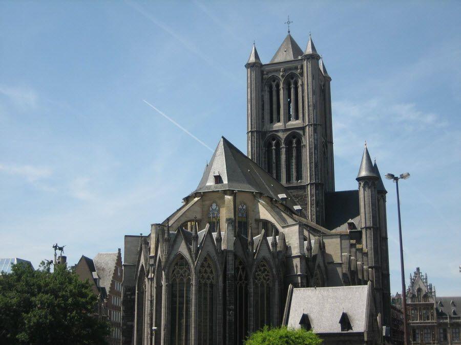 Фото архитектура города Гент. Бельгия