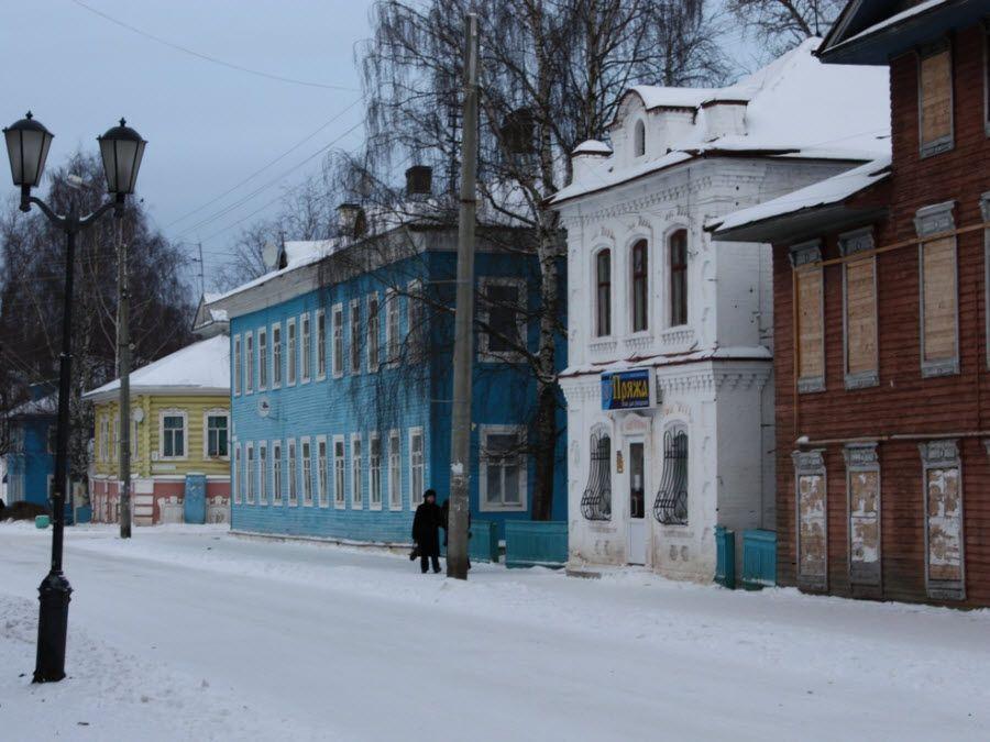 Фото центр города Великий Устюг