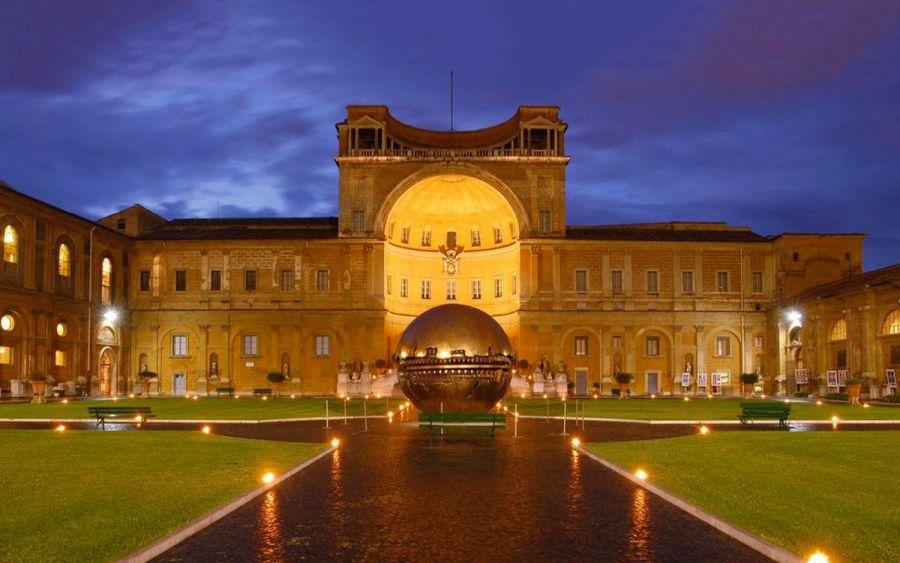 Григорианский Этрусский музей Ватикана фото