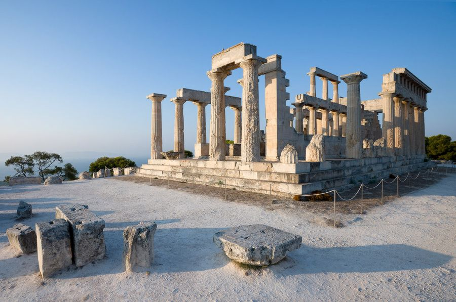 Храм Афайи фото