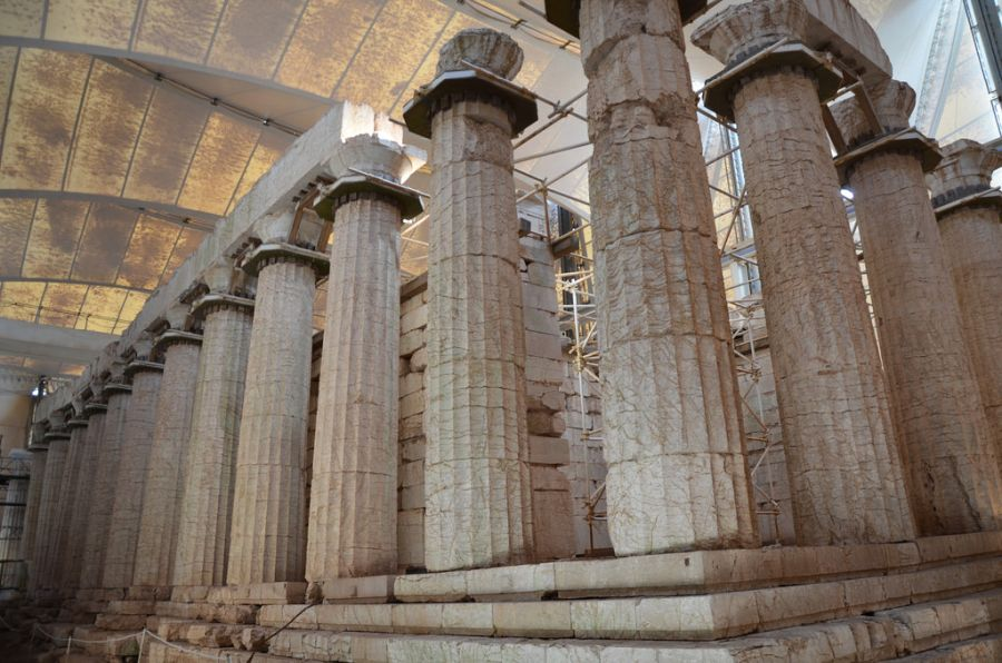 Храм Аполлона в Бассах фото