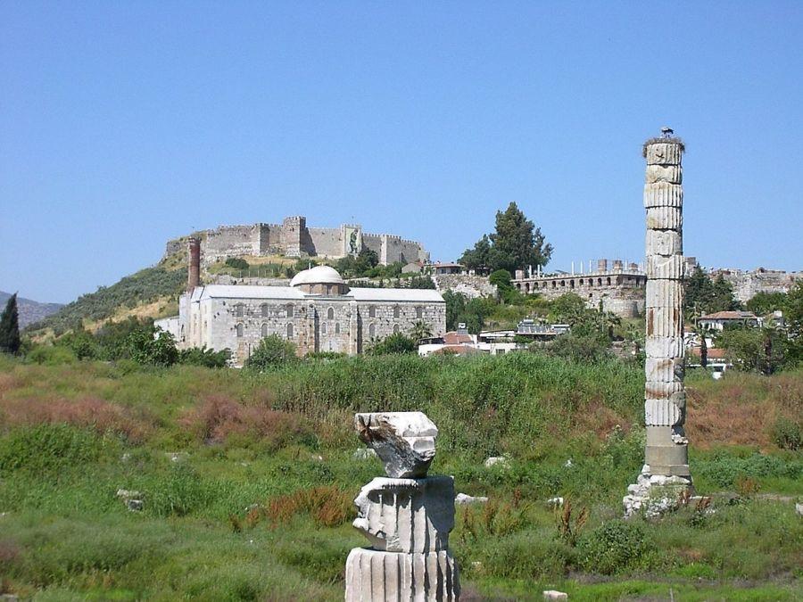 Храм Артемиды Эфесской фото