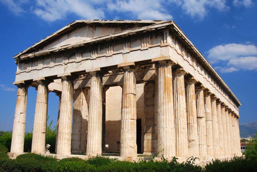 Храм Гефеста фото