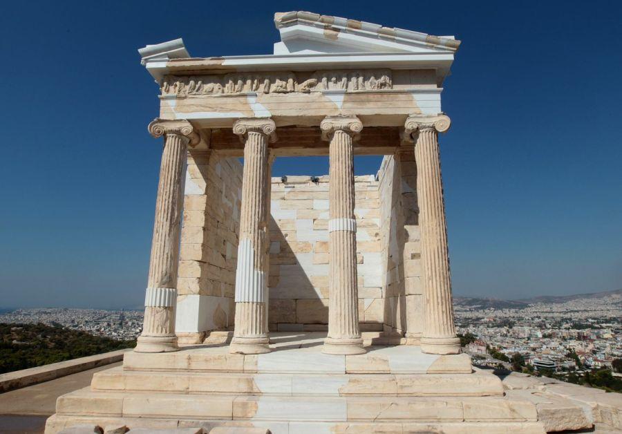 Храм Ники Аптерос фото
